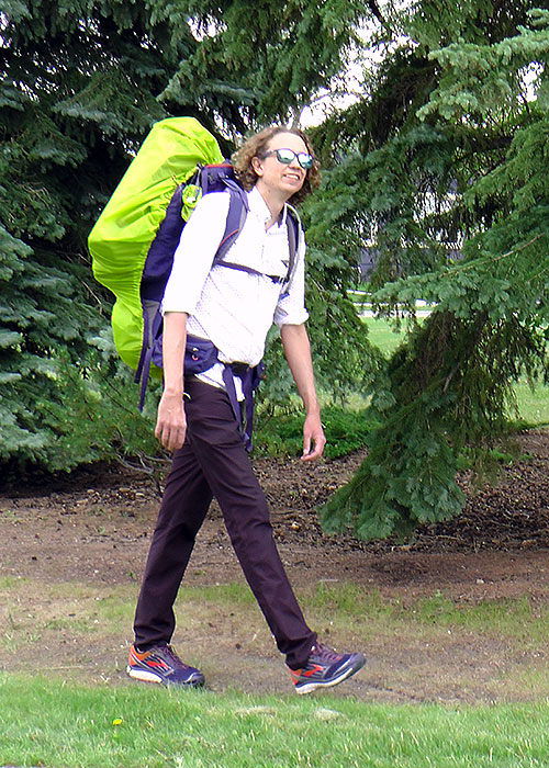 nait staffer and hiker andrew johnson