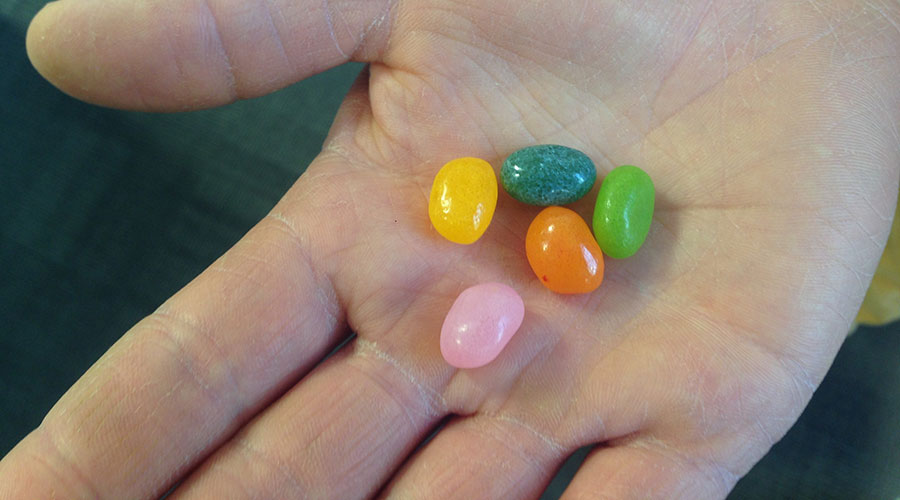 jelly beans - the perfect long-distance running snack?