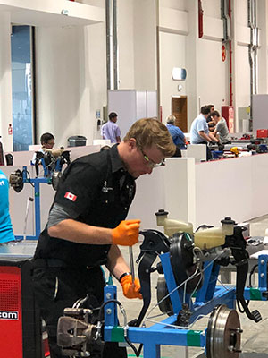 aaron taves at worldskills abu dhabi 2017