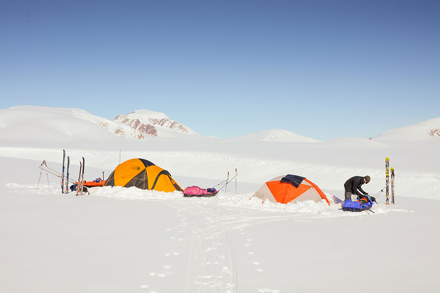 camp on ellesmere island