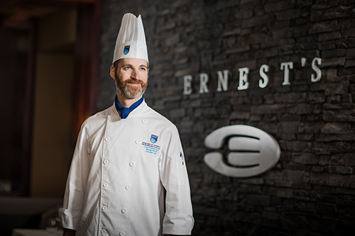 michael hassal, nait, ernest's executive chef
