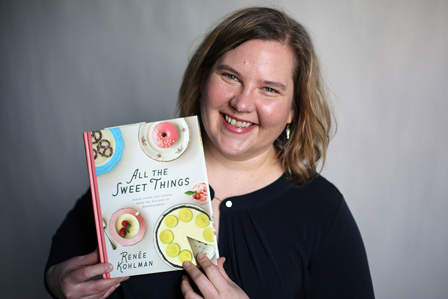 renee kohlman and her book All the Sweet Things