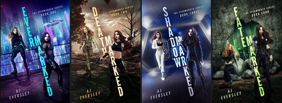 amy eversley evermarked novel series