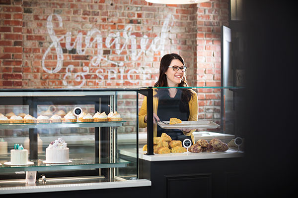 amy nachtigall, owner of sugared and spiced