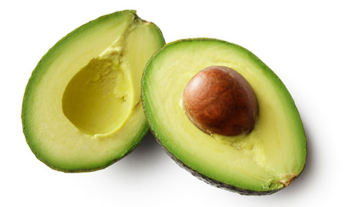 substitute avocado for butter in baking to cut calories, says Nick Creelman, NAIT registered dietician