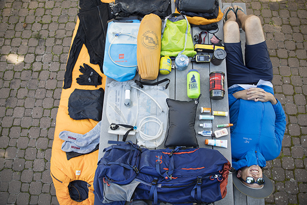 how to pack a backpack so it's super light