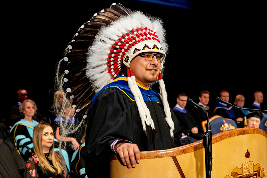 billy morin, nait grad, chief of enoch cree nation, grand chief of treaty six confederacy 2020-21