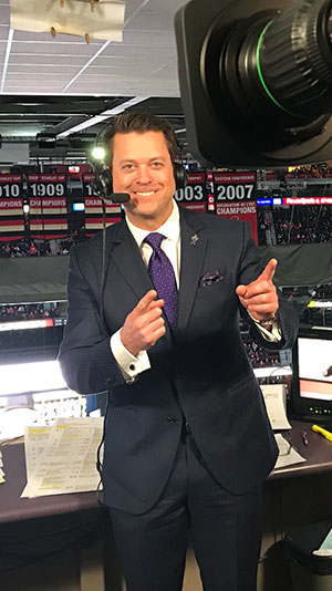 bryan mudryk, tsn, play-by-play announcer Montreal Canadiens