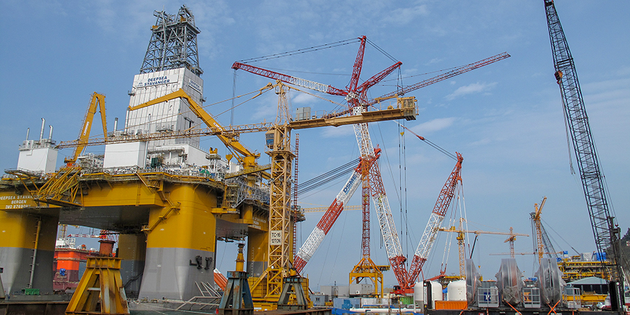 DSME Daewoo Shipbuilding Maritime Engineering in South Korea