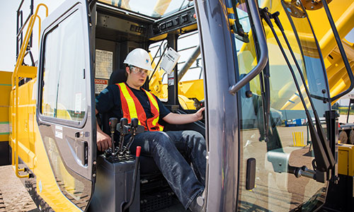 nait career camp in edmonton heavy equipment crane and hoisting operator technician
