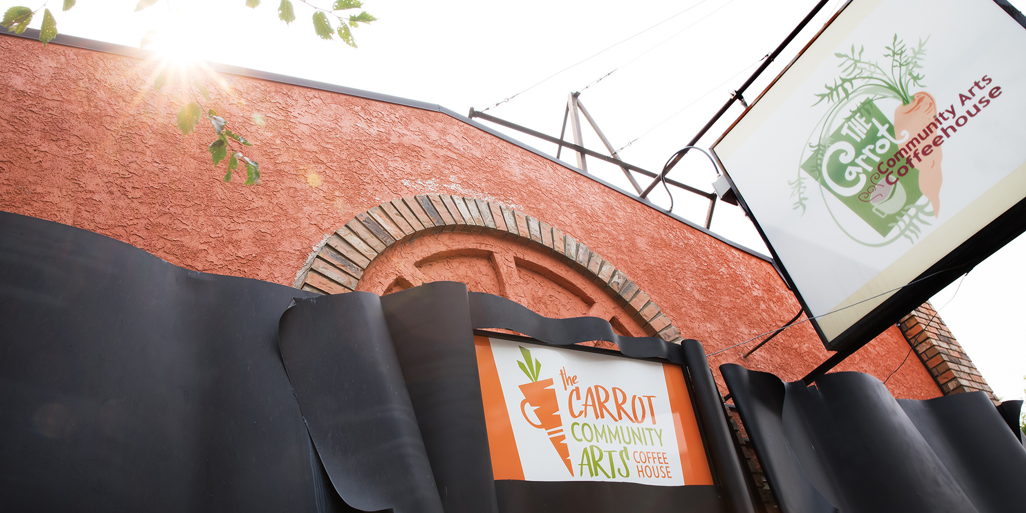 carrot community arts coffeehouse, edmonton, alberta avenue, 118 avenue