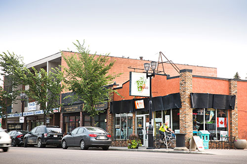 the carrot community coffee house, arts on the ave, alberta avenue, edmonton, 118 avenue