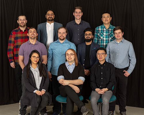NAIT DMIT students who built banff commonwealth walkway app