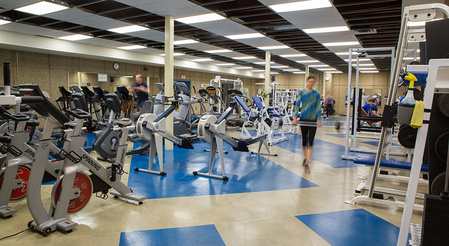 NAIT fitness centre