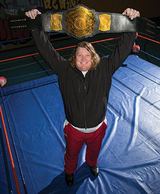 In October 2015, the Gothic Knight retired as the Pure Power Wrestling heavyweight champion.