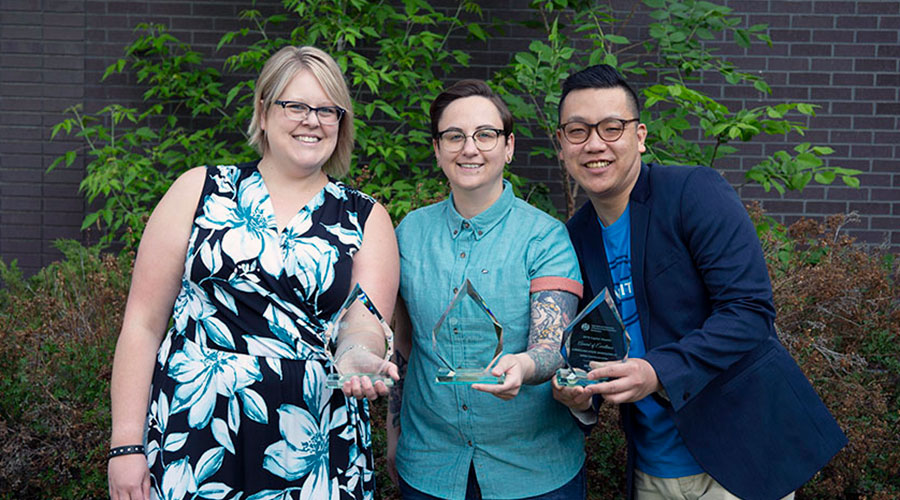 IABC award winners