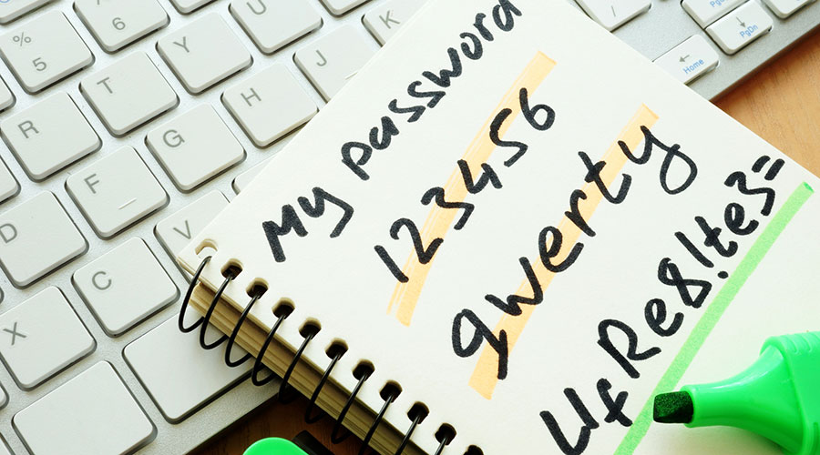 computer passwords