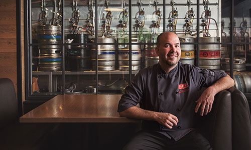 Peter Skwaruk, executive chef at Craft, Edmonton