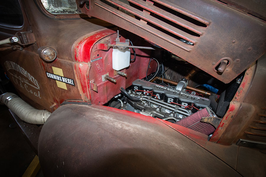 rat rods by matteo medoro, 1991 dodge engine