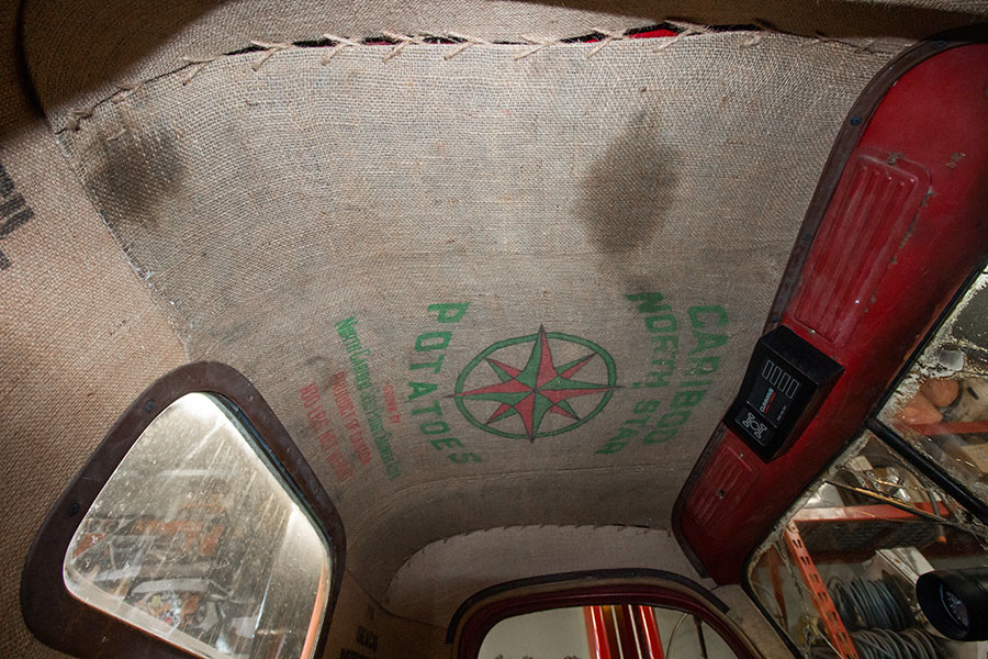rat rods by matteo medoro, 1947 dodge, interior, ceiling