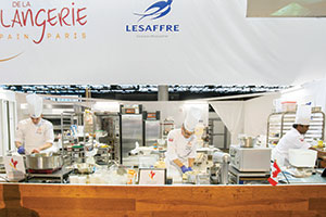 Baking Team Canada competes at the Parc des Expositions, site of the Bakery World Cup.