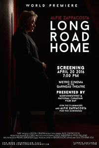 Long Road Home debuted in April at the Northwestfest, where it was named Best Alberta Documentary Over 30 Minutes.